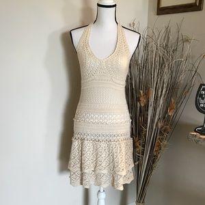 MODA International Crochet Backtie Sundress